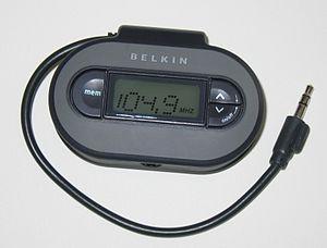 Belkin ''TuneCast II FM microtransmitter