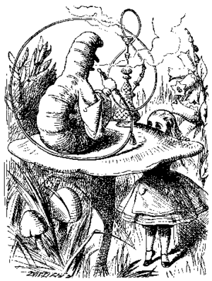 """Alice meets the Caterpillar"", from ..."