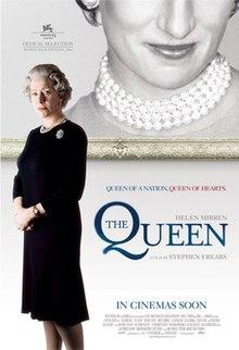 """Locandina del film britannico """"The Queen"""" del 2006 diretto da Stephen Frears, scritto da Peter Morgan"""