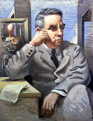Giorgio de Chirico, Portrait of Albert C. Barn...