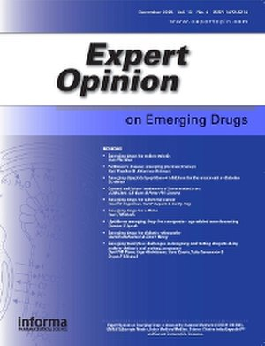 Expert Opinion on Emerging Drugs front cover
