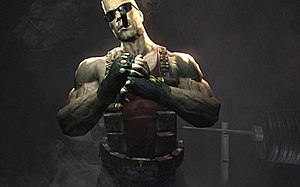 Duke Nukem Forever 2007 teaser screenshot