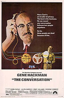 Movie Poster for The Conversation