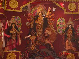 Durga Puja in Mymensingh, Bangladesh