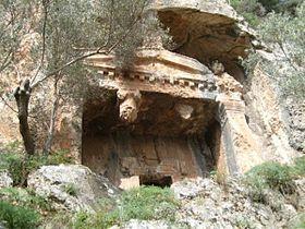 Akyaka - Gökova Felsengräber  -Idyma Akropolis - Akyaka