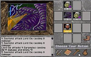 Combat was simple turn-based point and click f...