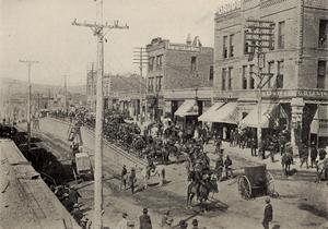 Cripple Creek, Colo., under martial law, 1894