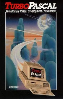 Turbo Pascal 3.0 manual front cover