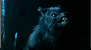 George in his werewolf form