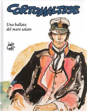The first Corto Maltese adventure, Una ballata...