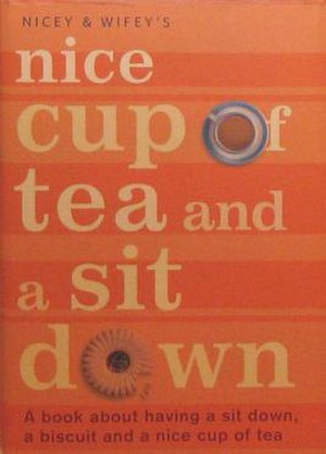 The Nice Cup of Tea and a Sit Down book.