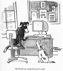 On the internet, nobody knows that you're a dog