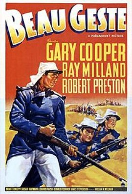 Image result for beau geste movie poster 1939