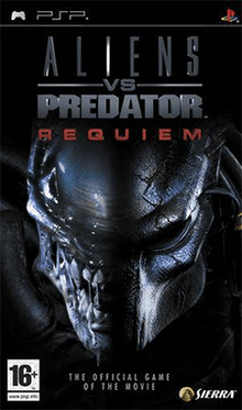 Aliens Vs Predator Requiem Coverart Png