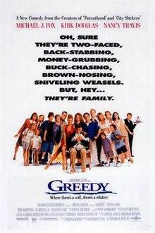 greedy film wikipedia