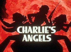 Main title card of Charlie's Angels