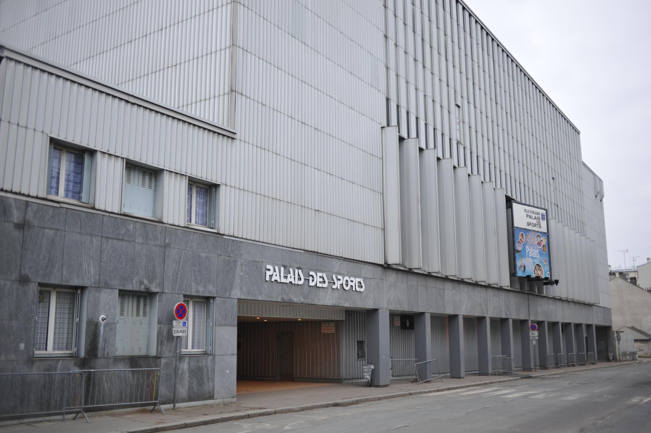 palais des sports d orleans wikipedia