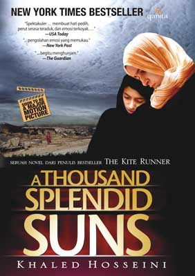Cover buku A Thousand Splendid Suns