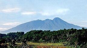 Gunung Salak, bagian dari TNGHS