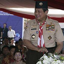 Presiden SBY Membuka Jambore Nasional VIII-2006