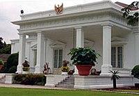 Istana Negara, bagian dari Istana Kepresidenan Jakarta.