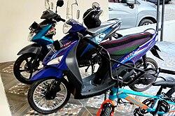 Yamaha Mio Warna Hitam