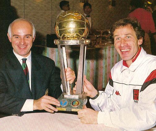 Arrigo Sacchi e Franco Baresi