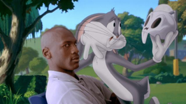 Il logo del primo Space Jam