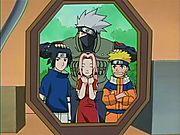 Naruto dalam Kumpulan 7.