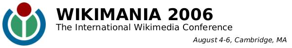 Wikimania 2006
