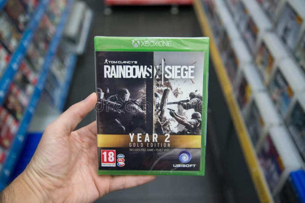 Rainbow Six Siege game
