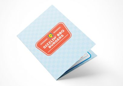 Lidl Ireland Sizzling BBQ Burgers Booklet Mockup 1