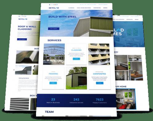 SkyClad Ltd Ireland Website Redesign by Upload Media Image 1