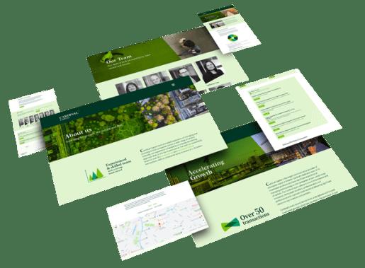 cardinal capital group website layouts