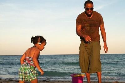 Kijuan Bird with daughter