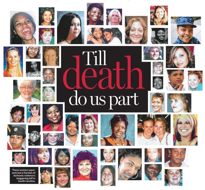 Till Death Do Us Part collage