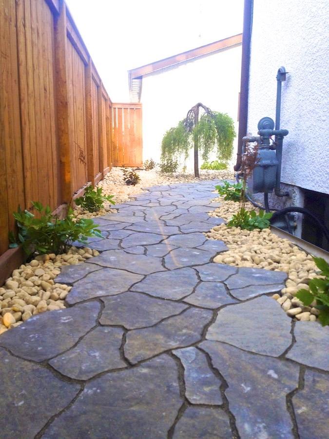 winnipeg landscaping flagstone paving stone