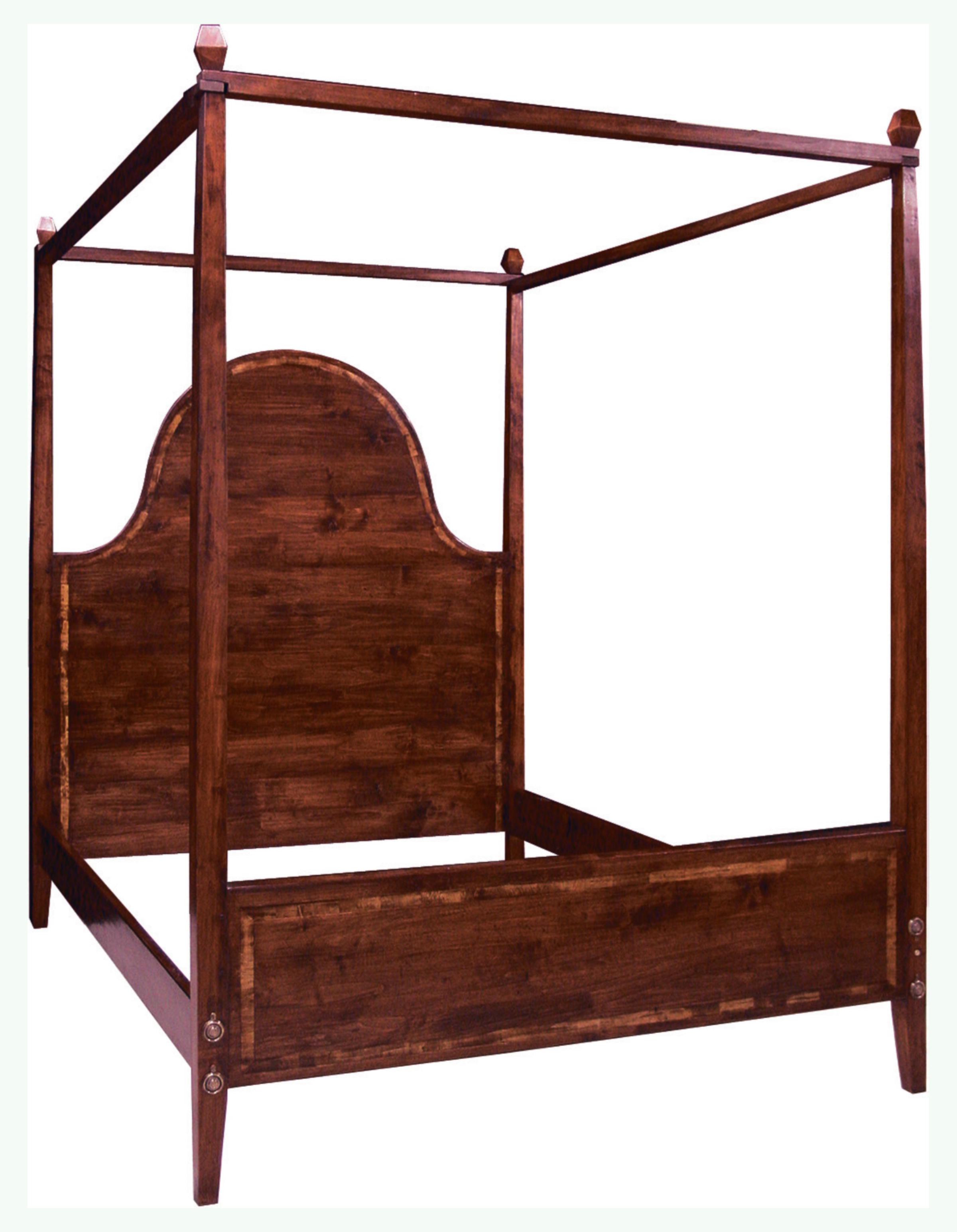 queen size canopy 4 poster bed