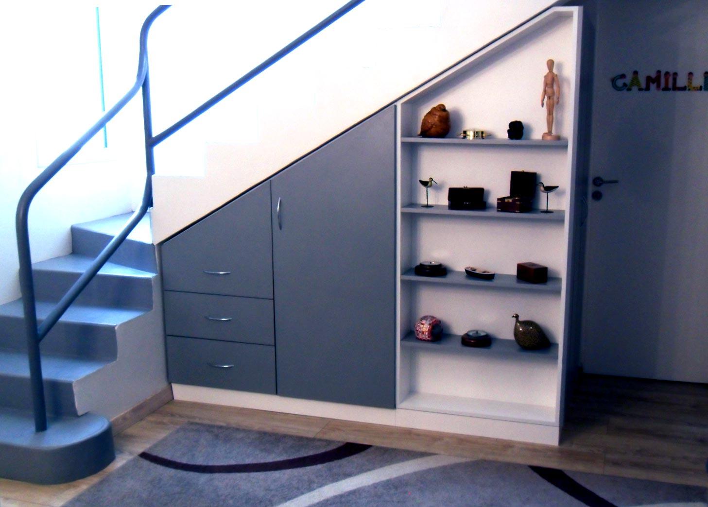 Meuble Sous Escalier Sur Mesure DessineTonMeuble