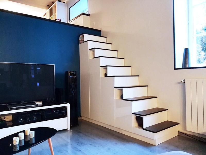 Nos Meubles Escalier Sur Mesure Dessinetonmeuble Belgique