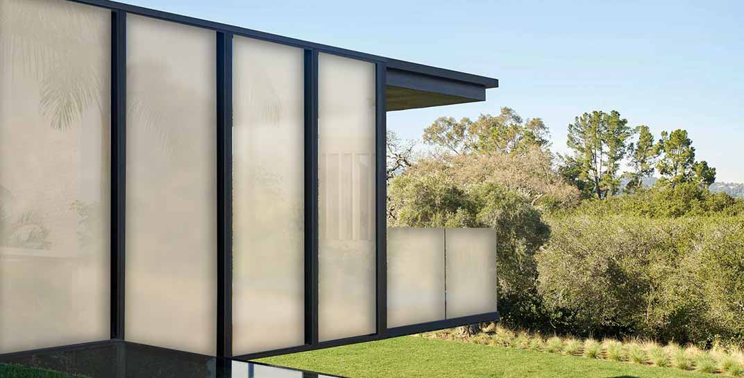 smart glass for residential and