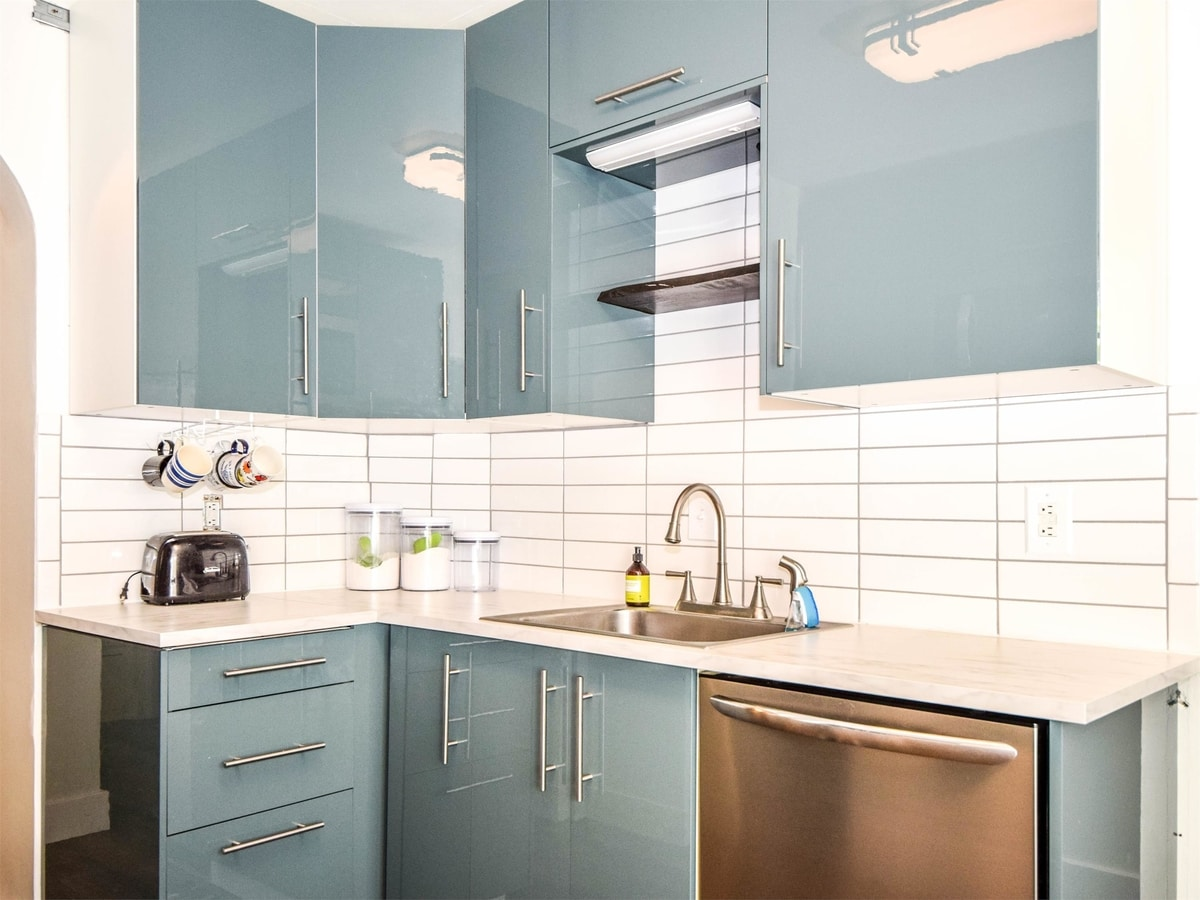 why we chose ikea cabinets for a