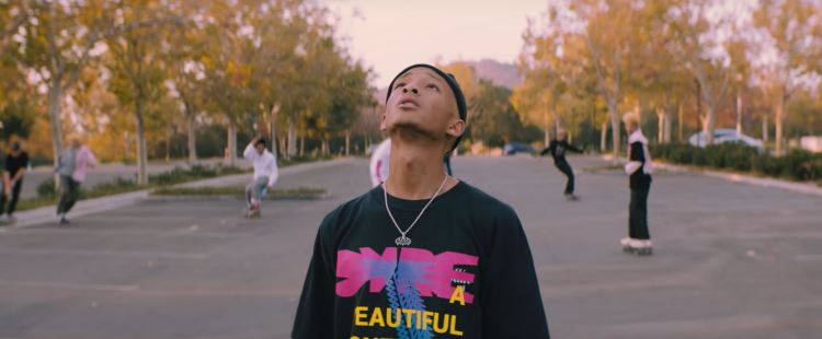 """A Calabasas Freestyle"" by Jaden Smith Music Video Outfits"