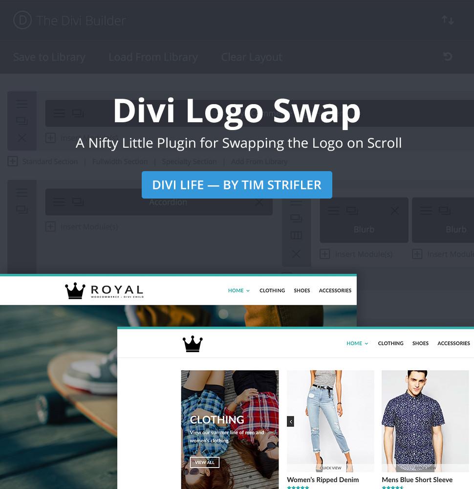 Download Divi Logo Swap