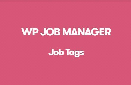 Download WP Job Manager Job Tags Addon