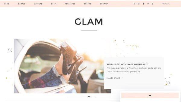 StudioPress Glam Pro Theme