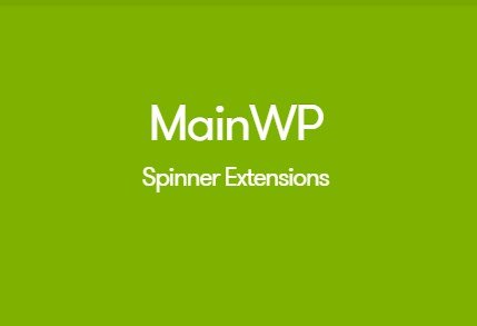 MainWP Spinner Extension