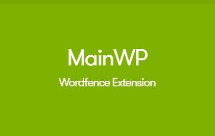 MainWP Wordfence Extension