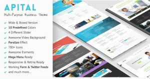 Apital – Ultra Premium Business WordPress Theme