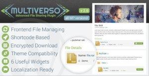 Multiverso – Advanced File Sharing Plugin